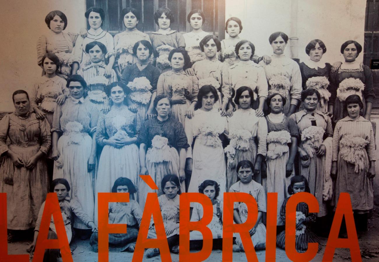 Visita 4t d'ESO i Batxillerat. Taller Una majoria invisible, Les dones a la fàbrica. Museu del Ter.