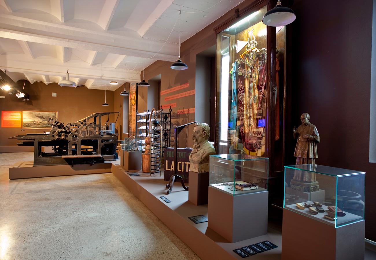 Exposició La societat industrial. Innovació, treball, classes, conflicte i cultura. Museu del Ter.