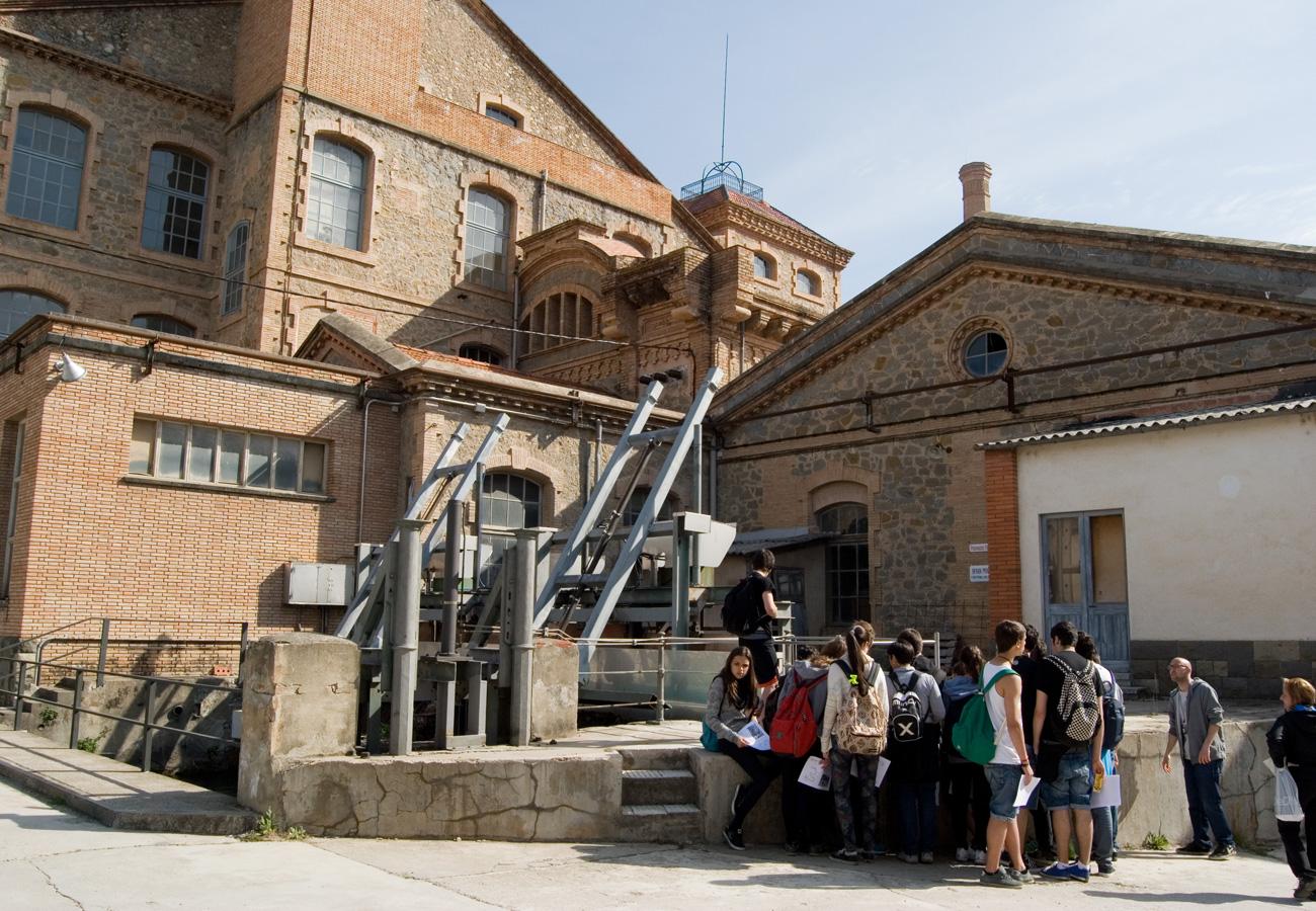 Visita a partir de 6è de primària. Sortida colònia Borgonyà. Museu del Ter
