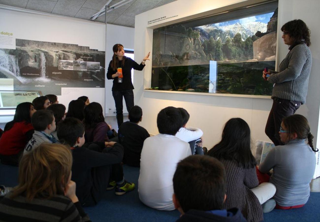 Visita ESO i Batxillerat. Exposició Els Rius Mediterranis. Museu del Ter.