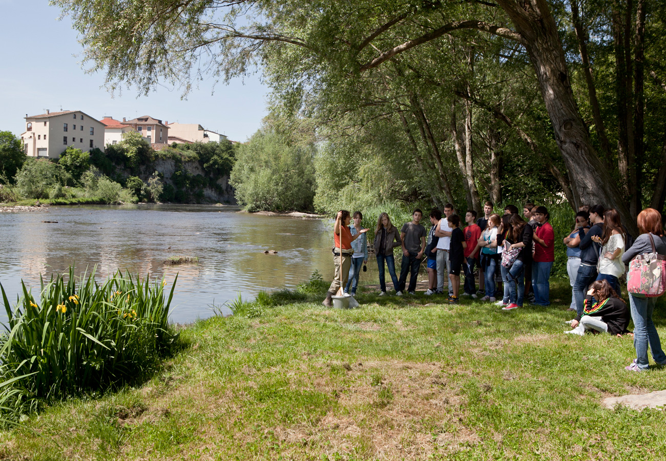 Visita Cicle Superior i ESO. Taller Els peixos de riu. Museu del Ter